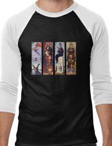 Haunted mansion all character Men's Baseball ¾ T-Shirt