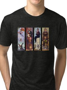 Haunted mansion all character Tri-blend T-Shirt