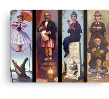 Haunted mansion all character Metal Print
