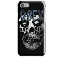 Obey you misfit! iPhone Case/Skin