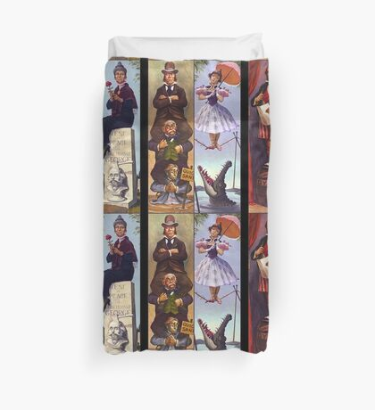 Haunted mansion all character Duvet Cover