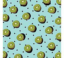 Kiwi Fruit Photographic Print