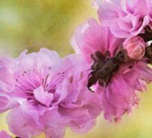 Springtime artistry Sticker