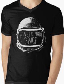 I Need More Space Mens V-Neck T-Shirt