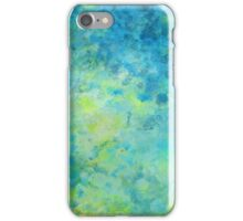 Abstract Beach Fizz iPhone Case/Skin