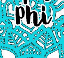 Alpha Phi Sticker
