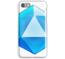 Blue D20 Dice iPhone Case/Skin