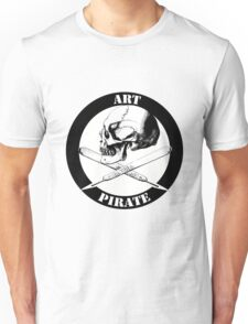 Art Pirate Logo - Skull & Scalpels Unisex T-Shirt