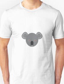 Koala's face Unisex T-Shirt