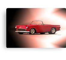 1956 Ford Thunderbird 'Street Machine' Metal Print