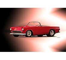 1956 Ford Thunderbird 'Street Machine' Photographic Print