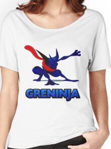 Dark Greninja Design Women's Relaxed Fit T-Shirt