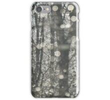 Shining Forest after Snow and Rain iPhone Case/Skin