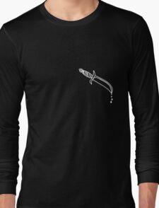 The Dripping Blvd Knife Long Sleeve T-Shirt