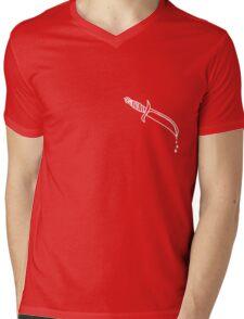 The Dripping Blvd Knife Mens V-Neck T-Shirt