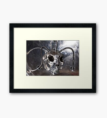 Science Fiction Character Framed Print
