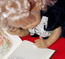 Dolly Reading Peter Rabbit Sticker