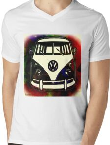 Retrotastic Mens V-Neck T-Shirt