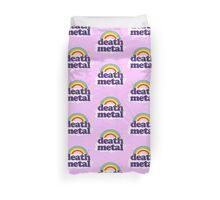 Death Metal Rainbow Duvet Cover