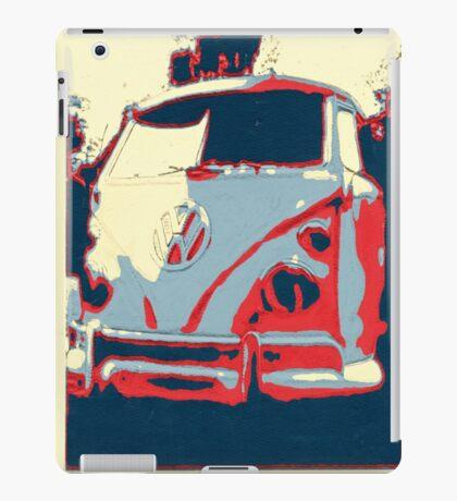 Retro split screen iPad Case/Skin