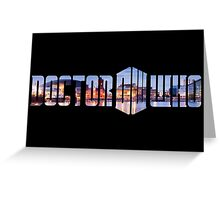 Doctor Who - Cardiff Title Greeting Card