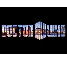 Doctor Who - Cardiff Title Photographic Print