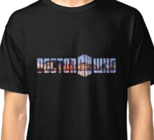Doctor Who - Cardiff Title Classic T-Shirt