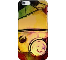 Colour bomb bus iPhone Case/Skin
