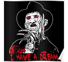 I Have a Dream Zombie  Poster