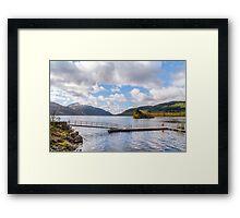 Tip of Loch Lomond Framed Print