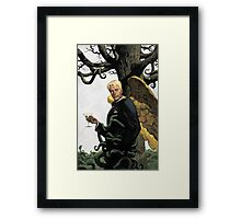 Lucifer comics Framed Print