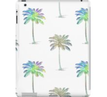 Coconut Palm Trees Colored Pencil Style iPad Case/Skin