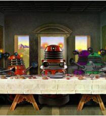 Last Supper of the Daleks Sticker