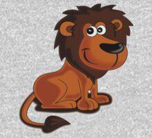 Baby Lion Roar - Kids Clothing Cartoon Tee Kids Tee
