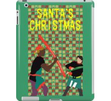 Santa's Christmas Feature Film Official Poster iPad Case/Skin