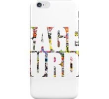 Garage Saturdays sticker bomb iPhone Case/Skin