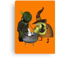 What`s in the Pot Canvas Print