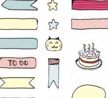 Cute Planner Stickers Sticker