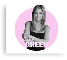 Rachel Green - Friends Canvas Print