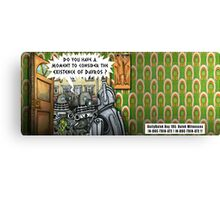 The Dalek Witness Canvas Print