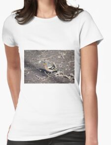 Colourful Chaffinch Womens Fitted T-Shirt