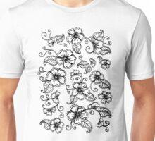 Henna Mehendi Florals Unisex T-Shirt