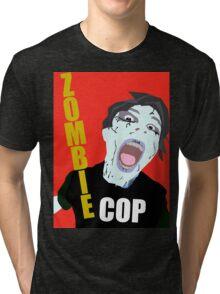 Zombie Cop Feature Film Official Poster Tri-blend T-Shirt
