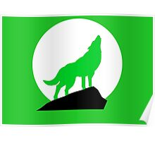 Green Wolf Poster