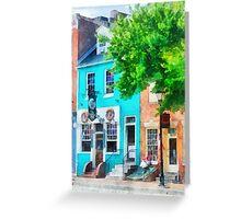 Baltimore MD - Neighborhood Pub Fells Point Greeting Card
