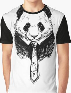 Classy Panda Graphic T-Shirt