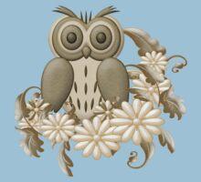 Mr Owl One Piece - Short Sleeve