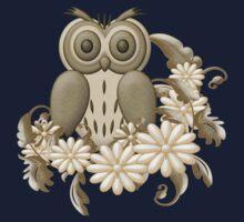 Mr Owl One Piece - Long Sleeve