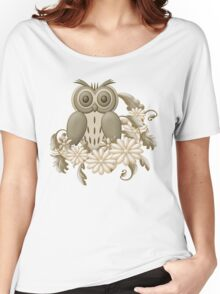 Mr Owl Women's Relaxed Fit T-Shirt