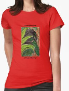 It's a jungle out there Womens Fitted T-Shirt